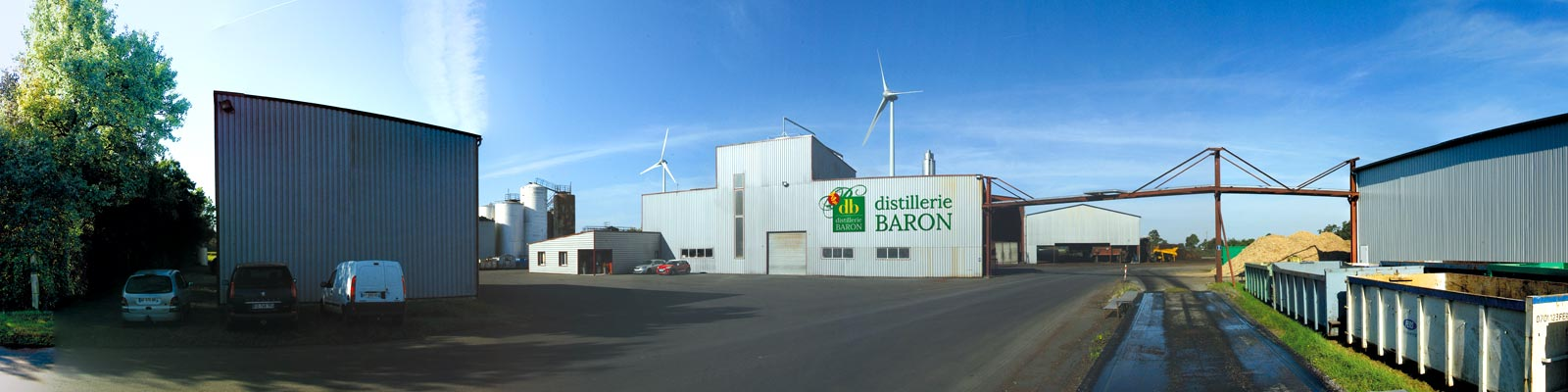 Distillerie Baron in heart of the Nantes vineyards